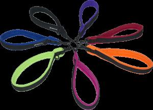 Ezwalk loop leashes multi colors